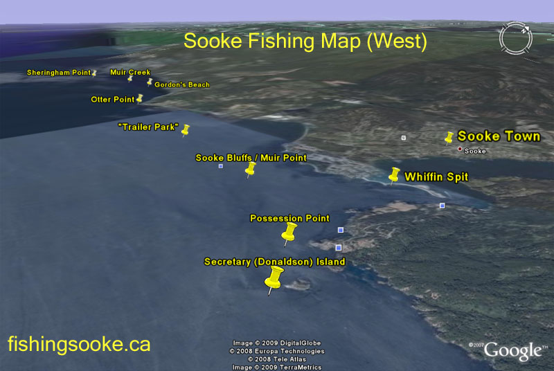 Sooke fishing adventures fantasic vancouver island salmon for West point fishing report
